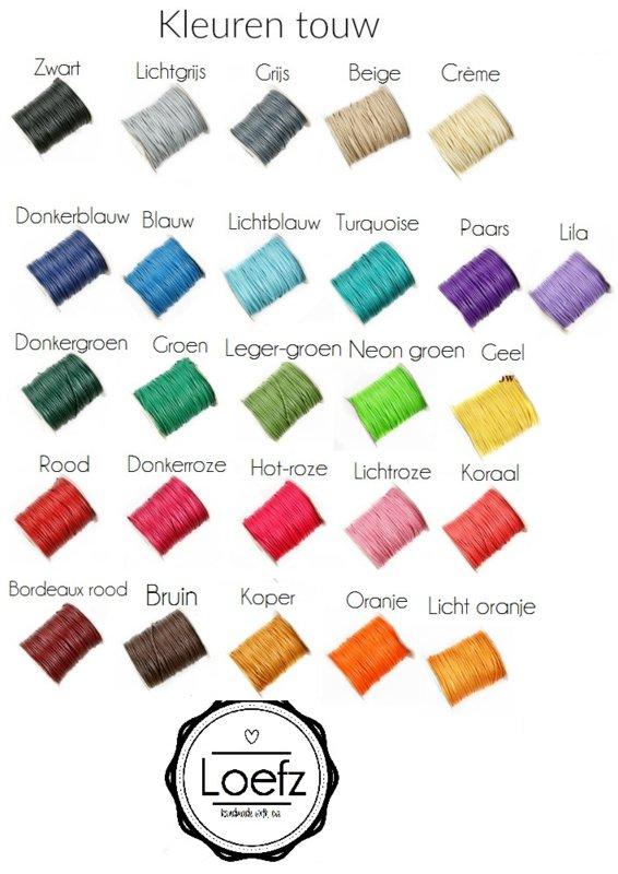 Kleuren touw Loefz